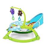 Baby Bouncer Baby Rocker, abnehmbares Spielzeug Kompakte Falte für Aufbewahrung oder Reisen - Leicht zu reinigende Koax-Sofas, Milchstühle, Kinderstühle