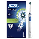 Oral-B PRO 600 CrossAction Elektrische Zahnbürste mit Timer