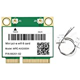 Tamkyo 2974 Mbit/S WiFi 6 PCI-E Karte Drahtloses Netzwerk WLAN WiFi Karte 2,4 G / 5 GHz 5.0 802.11Ax / Ac für Win10 Laptop