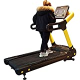 Agcwhls Motorized Treadmill 1.5-22Km Speed Adjustable, Weight Bearing 180Kg Button Touch Screen Heavy Duty Treadmill Fitness Ex