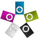 Akemaio 3.5mm USB2.0 Mini-MP3-Player mit Clip Mikro-Sd TF Karte Einfachen Keine Dispaly Bildschirm