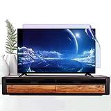 AWSAD TV Displayschutzfolie, Passend für LCD/LED / 4K OLED/QLED HDTV Displays Desktop-Monitor Augenbelastung Entlasten 32-75 Zoll Staubdicht Wasserdicht