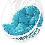 Doans Hängendes Stuhl Stoffkissen Verdicken Sie hängende Hängematte Stuhl Pad Stuhl Sitzpolsterung Die Struktur eines Schaukelstuhls oder eines Korbstuhls Right