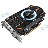 PRADEON AMD GPU Radeon RX560 4GB Grafikkarte, 128-Bit GDDR5 Speicher, DisplayPort/HDMI/DVI-D PCI Express Computer Game Grafikkarte, Mining Videocard (RX560 4G)
