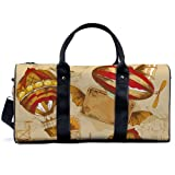 Vintage-Flugausrüstung, Reisetasche, Yoga, Camping, Fitnessstudio, Schultertasche, Sporttasche, leichte Leinen-Tragetasche, Reisetasche für Männer und Frauen