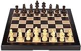 Entertainment Board-Spiel Set Schachspiele hölzerner Schach-Set-faltendes magnetisches Schach-Set mit massivem Holzbrett und handgefertigten Schachfiguren für Kinder-Tagesgeschenk-Schach-Geschenke Fal