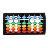 Hamaio Abakus Rechenrahmen, Holz Rechenschieber - Arithmetisches Soroban Mathematik Abakus Spielzeug, Berechnungswerkzeug Für Kinder