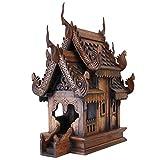 Wilai echtes thailändisches Geisterhaus original und neu 46 cm Fang Holzhaus