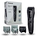 Panasonic ER-GB62 Bart-/ Haarschneider mit 39 Schnittstufen, Bartschneider für Herren, inkl. Body-Trimmer, Pflege für Körper