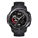 HONOR Watch GS Pro - GPS-Multisport-Smartwatch mit Robustes Gehäuse, 25-tägiger Akkulaufzeit, 1,39-Zoll-AMOLED, schwimmbereit, SpO2, Herzfrequenz-Tracking, kompatibel mit Android und iOS (Schwarz)