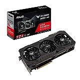 ASUS TUF Gaming AMD Radeon RX 6700 XT OC Edition Grafikkarte AMD RDNA 2, PCIe 4.0, 12 GB GDDR6, HDMI 2.1, DisplayPort 1.4a, Dual-Kugellüfterlager, Aluminium-Gehäuse, verstärkter Rahmen, GPU Tweak II
