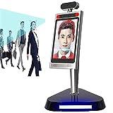 KAUTO HD LCD berührungslose Erkennung der Körpertemperatur Gesichtserkennung Infrarot-Tablet-Kamera Zugriffskontrollsystem Zeiterfassung