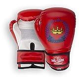 Senston Boxhandschuhe Kinder 4 6 OZ Sparringhandschuhen Kickboxhandschuhe für Boxen, Kampfsport, MMA, Sparring