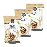 3x borchers Bio Low Carb Mehl, Weniger Kohlenhydrate, Proteinreich, Ballaststoffreich