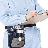 SUYUDD Krankenschwestertasche, Krankenschwestertasche Mit Mehreren Fächern, Organizer-Gürtel Für Krankenpflegetaschen, Pflegezubehör, Hüfttasche Für Krankenschwestern