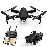 EACHINE E520S GPS Drohne mit 4k Kamera ,5G WiFi 250M FPV Live Übertragung,120°Weitwinkel,Follow-Me,App Steuerung,16 Minuten Flugzeit,RC Quadrocopter Faltdrohne für Anfänger