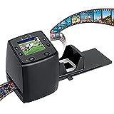 DIGITNOW! Diascanner Konvertiert 35mm / 135 Negative und Dia zu Digital JPEG, Filmscanner mit hoher Auflösung von 1800 DPI, kein Computer erforderlich