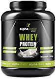 Whey Protein Pulver Neutral - Eiweißpulver für Proteinshakes, Fitness und Bodybuilding - WPC Whey Konzentrat mikrofiltriert ohne Süßstoff