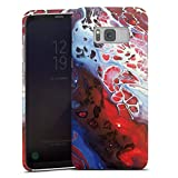 DeinDesign Premium Case kompatibel mit Samsung Galaxy S8 Plus Duos Smartphone Handyhülle Hülle matt Wasserfarbe bunt Farbe