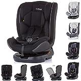 Chipolino Kindersitz Atlas Gruppe 0+/1/2/3 (0-36 kg), 3-Punkt-Sicherheitsgurt, Farbe:schwarz
