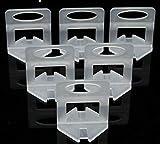 Fliesen-Nivelliersystem-Clips, 3 mm, 300 Stück