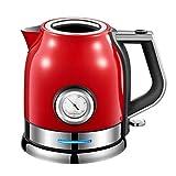 N-B Elektrischer Wasserkocher 304 Edelstahl Elektrischer Wasserkocher Elektrisch Heizung Automatisch Haushalt Große Kapazität Power Off Schnell Wasserkocher Haushalt Küche Kaffee Tee Set