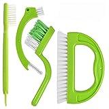 ESTone Reinigungsbürste für Zuhause, Badezimmer, Küche, Haushalt, Fugenfliesen, entfernt 4 Stück