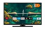 HITACHI H32E2200 32 Zoll Fernseher (HD-Ready, Smart TV, HDR10, Prime Video/Netflix/YouTube, Works with Alexa, Bluetooth, Triple-Tuner, HD+)