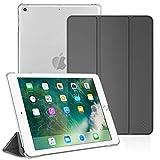 Fintie Hülle für iPad 9.7 Zoll 2018/2017 - Ultradünn Schutzhülle mit transparenter Rückseite Abdeckung Cover mit Auto Schlaf/Wach für 9.7' iPad 6. Generation / 5. Generation, Himmelg