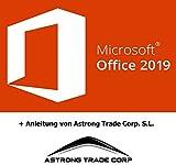Office 2019 Professional Plus - Produktschlüssel - Deutsche Lizenz - 1 PC - Deutsch - Spacemex - Download - Produktschlüssel per Post.