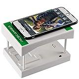 Rybozen Diascanner, Scannen und Speichern Ihrer 24x36 mm Negative und Dias mit Ihrer Smartphone-Kamera Anwendbar für alle Typen 35mm Filme (2 AA Batterien Werden separat gekauft) - Weiß