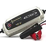 CTEK MXS 5.0, Batterieladegerät 12V 5A, Temperaturkompensation, Intelligentes Ladegerät Autobatterie, Ladegerät Auto Und Motorrad, Batteriepfleger Mit Rekonditionierungsmodus Und AGM-Option