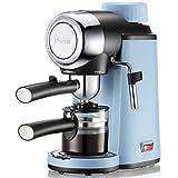 SXZSB Espresso Siebträgermaschine, Espressomaschine Mit Professioneller Milchschaumdüse, 800W Kann 4 Tassen Machen Für Zuhause Büro Kaffeemaschine
