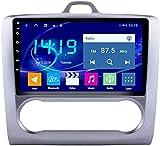 Hesolo Autoradio Video Player ist geeignet Kompatibel für Ford Focus 2006-2014 Android Großbild-Multimedia-Player GPS-Navigator 4g + 64g