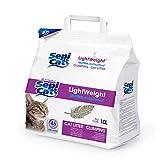 Global Katzenstreu 10 Liter | Sepicat Lightweight Ultra Antibakteriell | Saugfähiger Sand für Haustiere