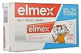 Elmex Zahnpasta für Kinder, 2 x 50 ml