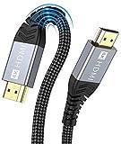 4K HDMI Kabel,ONIOU 5M Highspeed HDMI 2.0 Kabel 4K@60Hz 18Gbps Kompatibel für HD 1080P, HDR, Highspeed mit Ethernet, ARC, PS3/PS4, Xbox One/360, HDTV und Monitor (5M)