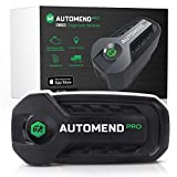 AUTOMEND PRO OBD2 Bluetooth Diagnosegerät - Auto-Scanner für iOS & Android | OBD2 Bluetooth Adapter für Fahrzeuge | OBD2 Diagnosegerät & Auslesegerät zur Auto-Diagnose | Fehlerausleseg