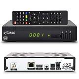 Comag HD25 HD Sat Receiver mit USB Aufnahmefunktion PVR + Mediaplayer + Astra vorinstalliert Digital Satelliten Receiver DVB-S2, HDMI, Full HD, HDTV