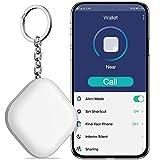 BEBONCOOL Schlüsselfinder, Key Finder Unterstützen iOS/Android, Schlüssel Finder mit Bidirektionalem Alarm/Silent Mode, Multifunktionaler Keyfinder, Smart One Touch Find Schlüsselfinder GPS