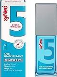 syNeo 5 Antitranspirant Pumpspray, Anti Schweiß Deo für Damen und Herren gegen starkes Schwitzen, Anti Transpirant Antiperspirant Spray, 1er Pack (1 x 30 ml)
