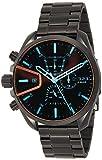Diesel Herren Chronograph Quarz Uhr mit Edelstahl Armband DZ4489