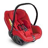 Avionaut Pixel Babyschale, der weltweit leichteste Kindersitz, Baby-Autositz Gruppe 0+ (0-13 kg, 40 cm - 86 cm) und IQ Base (ISOFIX-Basis), nutzbar ab der Geburt bis ca. 12 Monate, Warsaw Red