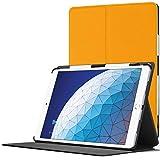 Forefront Cases Smart Hülle für iPad Air 3 2019   Magnetische Schutzülle Case Cover & Ständer für Apple iPad Air 3 2019 Modell   Smart Automatische Schlaf Wach Funktion   Dünn Leicht   Gelb