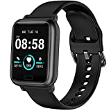 YOHOTA Smart Watch Fitness Trackers mit Heart Rate Monitor Schritt Calorie Counter Sleep Monitor, IP67 Waterproof Smartwatch 1.3' Color Screen, Activity Tracker Pedometer Watch for Women Men and Kids