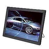 Elprico Tragbar Fernseher,14 Zoll Tragbarer Mini Fernseher 1080P 16:9 HD Mini TV mit 1800mAh großer Batterie Handheld-Digital-TV-Player