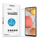 [3 Stück] OMOTON Panzerglas Schutzfolie für Samsung Galaxy A42 5G [Anti- Kratzer], [Bläschenfrei], [9H Härte], [HD-Klar]