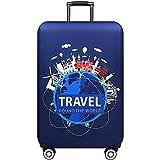 XKMY Dicker Gepäckschutz für Trolley, Gepäck, Reisetasche, elastische Schutzhülle (Farbe: E, Größe: XL)