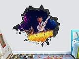 Wandtattoo League of Legends Tristana Benutzerdefinierte Wandtattoos 3D-Wandaufkleber Kunst
