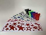3DJunkies Teigblume Drehhilfe + Sterne Aufkleber passend für Thermomix TM5 I TM6 Zubehör (Grün)